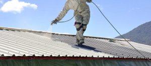 4. Spray polyurethane foam Roofs