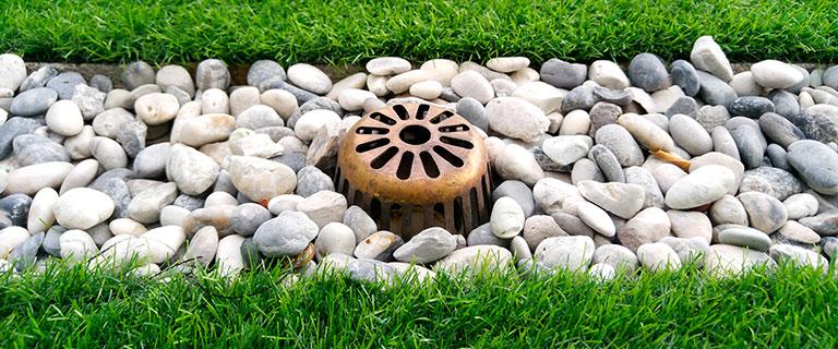 Lawn-french-drain