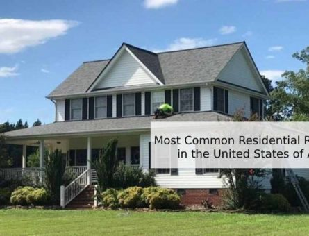 Most Common Residential Roof Designs In The United States Of America