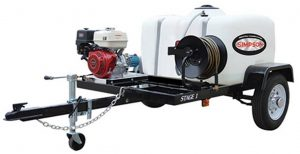 Simpson Pressure Washer Trailer For Professional Jobs